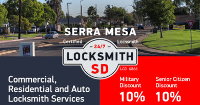 Serra Mesa Locksmith Services in San Diego