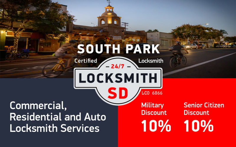 South Park Locksmith Services in San Diego