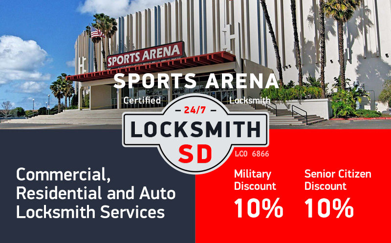 Sports Arena Locksmith Services in San Diego