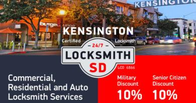 Kensington Locksmith Services in San Diego