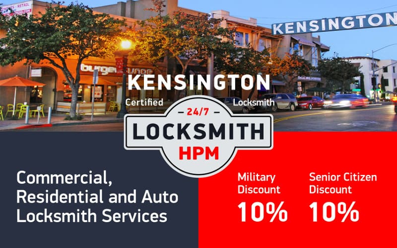 Kensington Locksmith Services in San Diego County