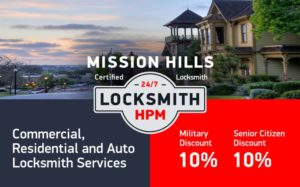 Mission Hills Locksmith Services in San Diego County