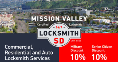 Mission Valley Locksmith Services in San Diego