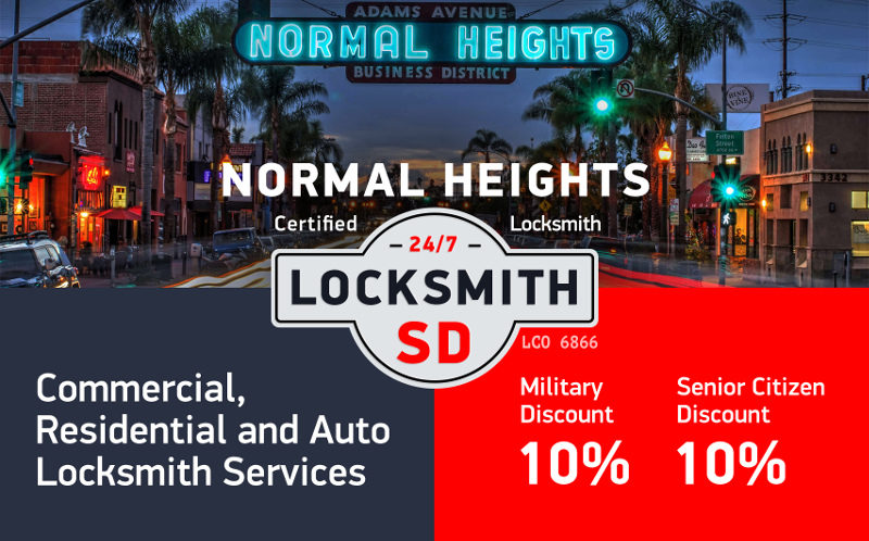 Normal Heights Locksmith Services in San Diego