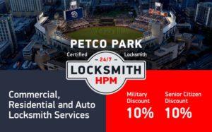 Petco Park Locksmith Services in San Diego County