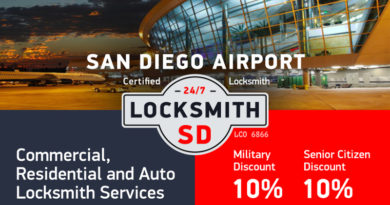 San Diego airport Locksmith Services in San Diego