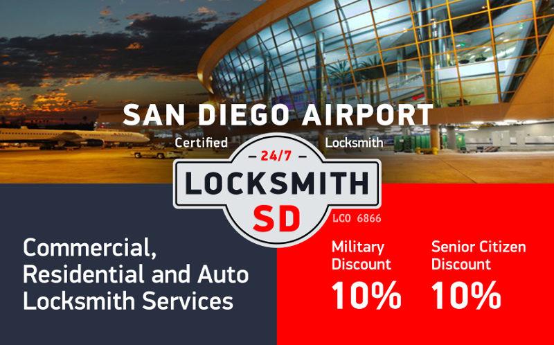 San Diego airport Locksmith Services in San Diego
