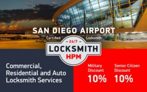 San Diego Airport Area Locksmith Services in San Diego County