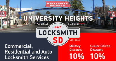 University Heights Locksmith Services in San Diego